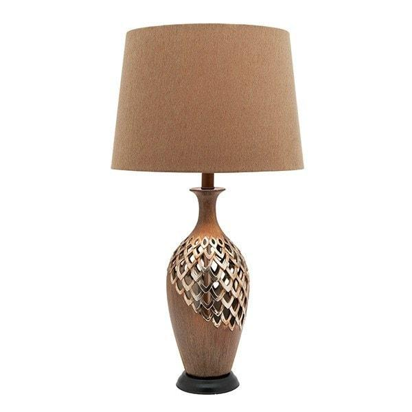 Table Lamp - Blomeley Antique Gold Table Lamp