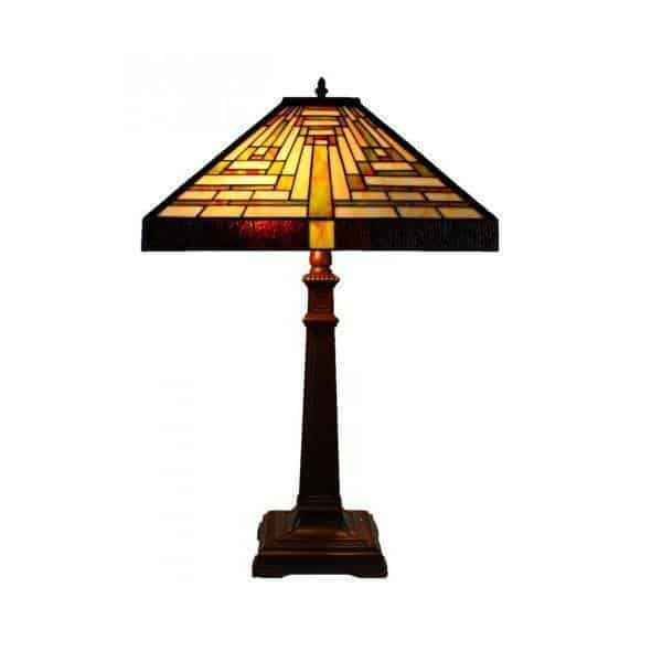 Table Lamp - Boston Triangle Tiffany Table Lamp