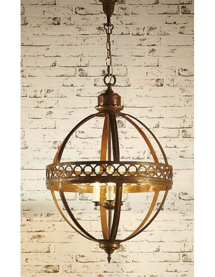 Traditional - Amalfi Antique Bronze Chandelier Large