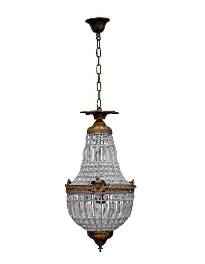 Traditional - Empire Chandelier Petite