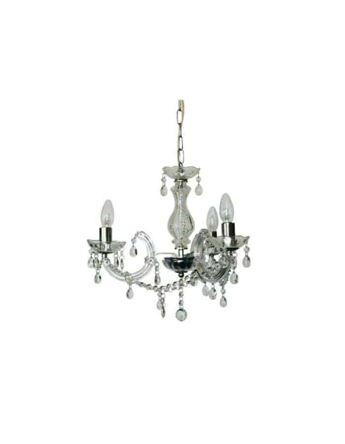 Traditional - Marie Therese 3 Light Chandelier