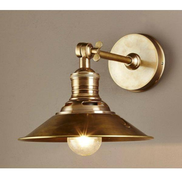 Wall Lamp - Bristol Brass Wall Sconce