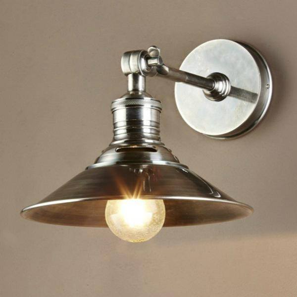 Wall Lamp - Bristol Silver Wall Sconce