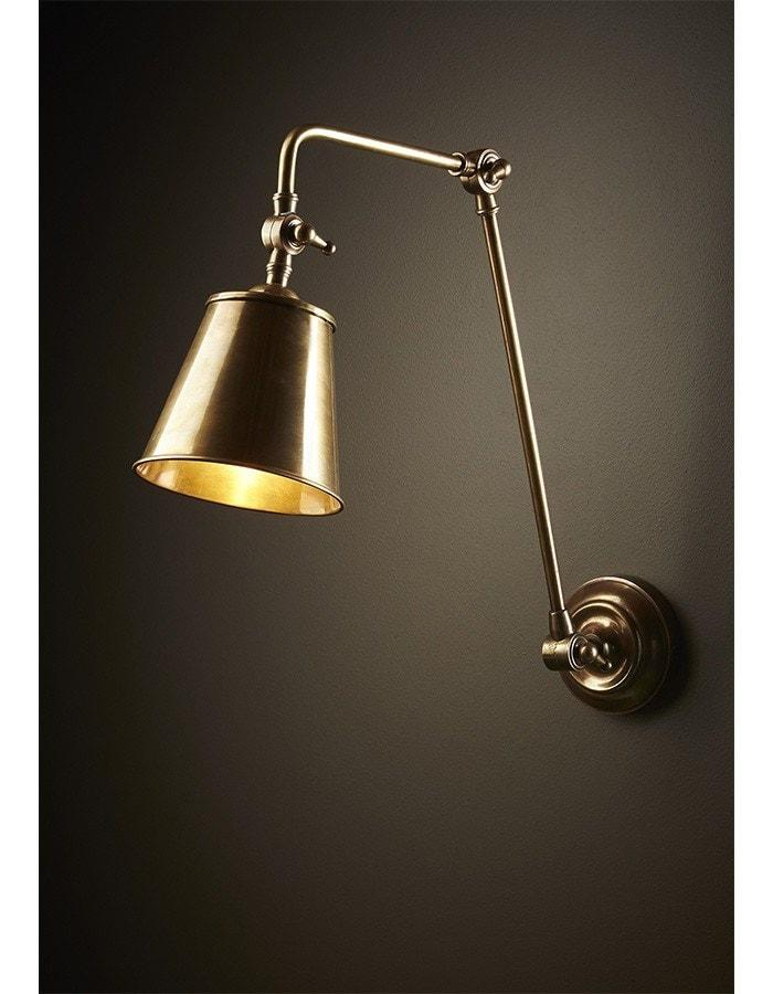 Wall Lamp - Cromwell Brass Wall Lamp
