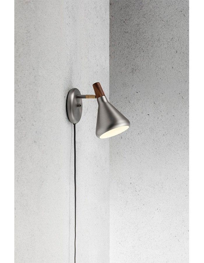 Wall Lamp - Float Brushed Steel Wall Lamp