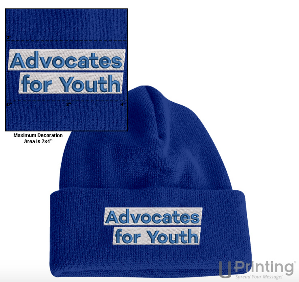 Advocates for Youth Beanie