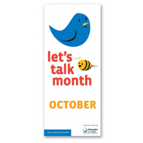 Let's Talk Month Brochure (Pack of 25)