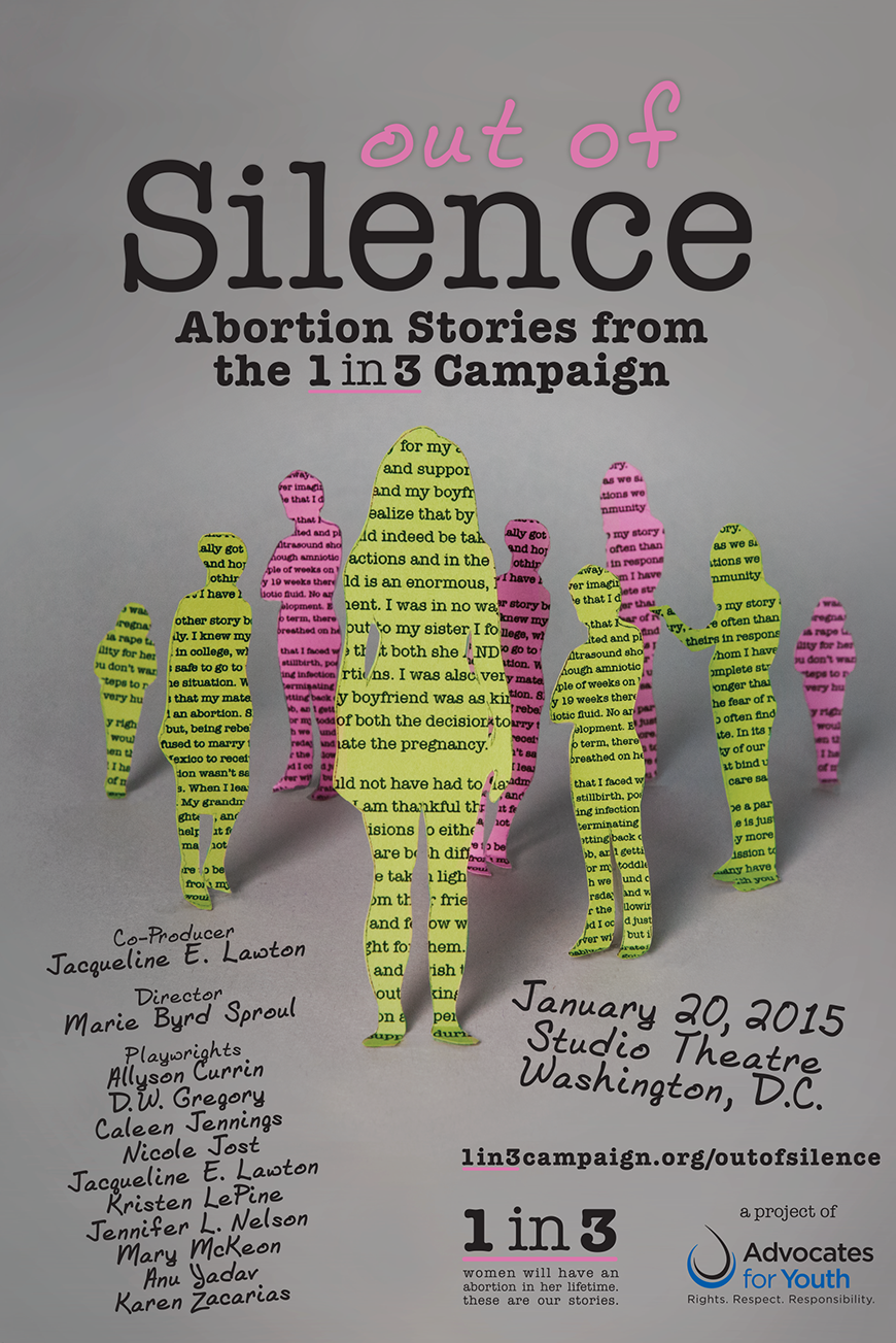 Out of Silence Poster – Advocates for Youth Shop