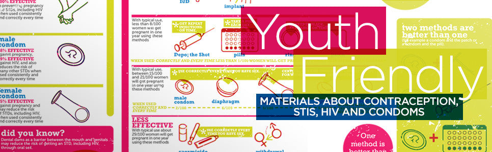 Youth-Friendly Materials About Contraception, STIs, HIV and Condoms