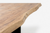 BREE Massivholz Esstisch mit Metallgestell - Esstisch -  - WHITEOAK - SOLIDMADE | Design Furniture - 5