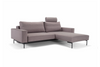 BRAGI Bettsofa Standardbezug Light grey