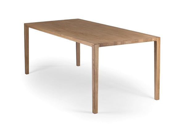 COLLIN Esstisch - Esstisch - Eiche geschliffen, natur geölt / 160x90x75cm - WHITEOAK - SOLIDMADE | Design Furniture - 1
