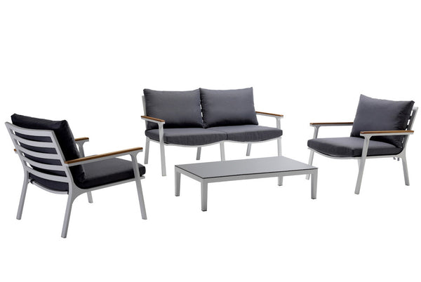 ESPRIT Lounge Set (Outdoor) - Gartenlounge -  - Kompakte moderne Gartenlounge - SOLIDMADE | Design Furniture - 1