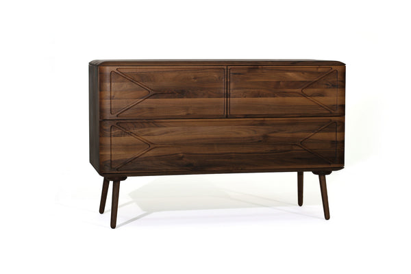 MALIN Sideboard (2/1) - Sideboard - Nussbaum geschliffen, natur geölt - WHITEOAK - SOLIDMADE | Design Furniture - 1