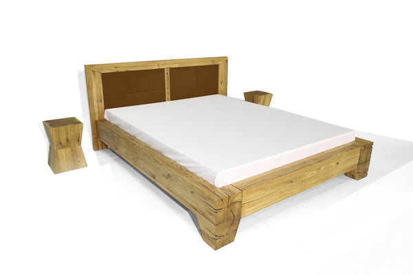 TYKO Bett - Bett - Eiche gebürstet, natur geölt / 140x200cm - WHITEOAK - SOLIDMADE | Design Furniture - 1
