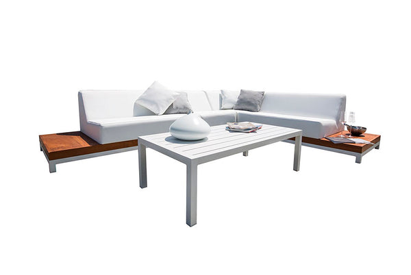 Divano IVORY Teak Collection Outdoorlounge Set