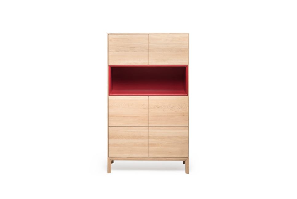 RABA Massivholz Highboard No.1