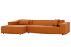 ATLANTA Ecksofa in Leder - Sofa - Leder cognac / Longchair links - SOLIDMADE | Design Furniture - SOLIDMADE | Design Furniture - 6