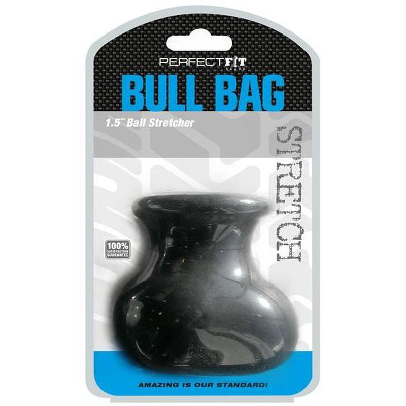 "Perfect Fit - Bull Bag XL - 1.5"" - Black - Circus of Books"