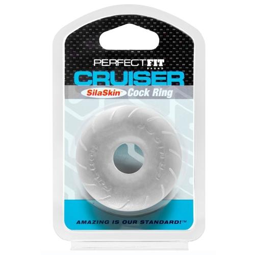Perfect Fit - Cruiser Cock Ring - Clear - Circus of Books