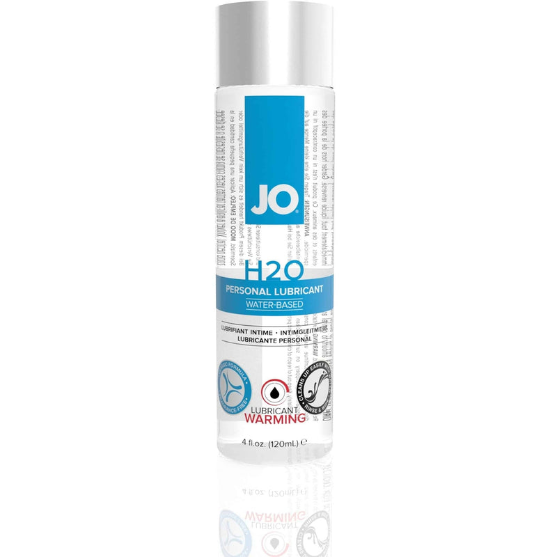 JO - H2O Warming - Water Based Lubricant 4oz - Circus of Books