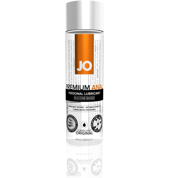 JO - Premium Anal - Silicone Based Lubricant 8oz - Circus of Books