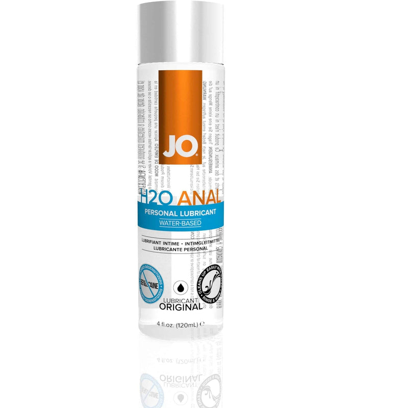 JO - H2O Anal - Original - Water Based Lubricant 4oz - Circus of Books