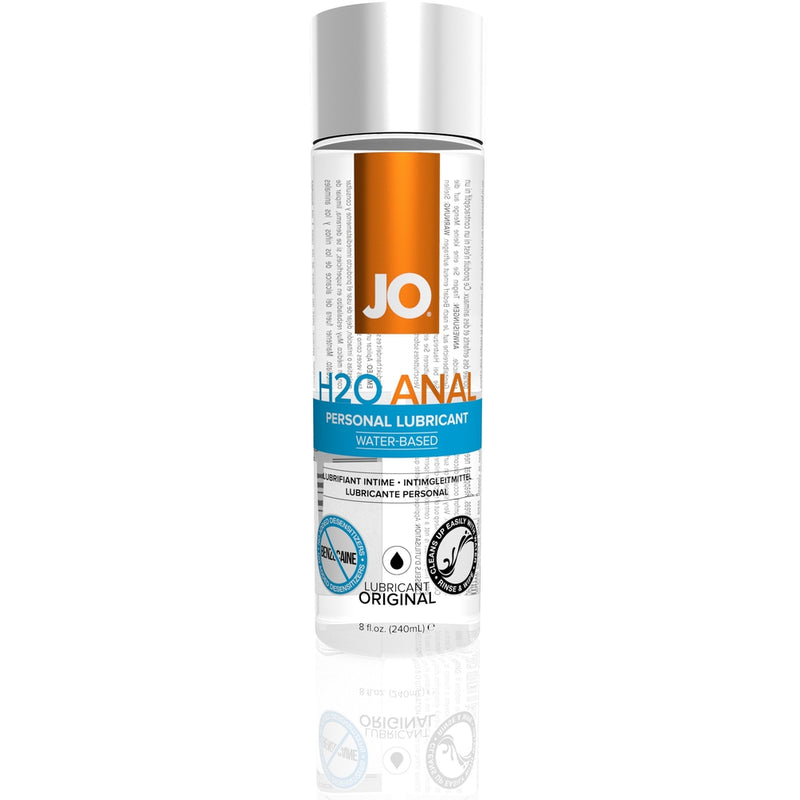 JO - H2O Anal - Original - Water Based Lubricant 8oz - Circus of Books