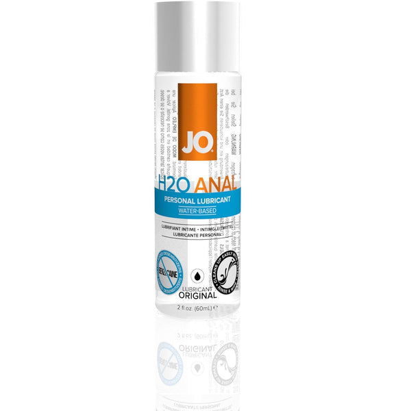 JO - H2O Anal - Original - Water Based Lubricant 2oz - Circus of Books