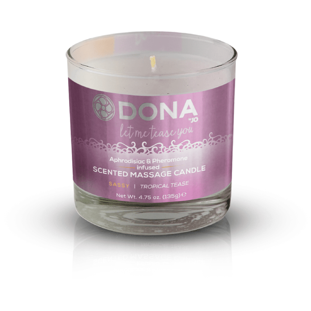 Dona Sassy Massage Candle