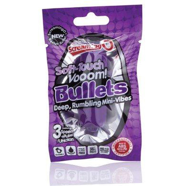 Screaming O 3+1 Soft Touch Vooom Bullet Purple - Circus of Books
