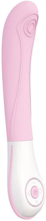 Ovo E8 Rechargeable SilkSkyn Vibrator - Pink