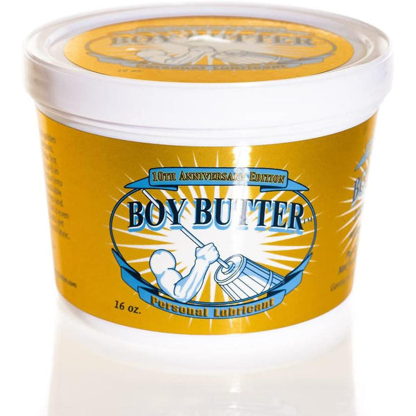 Boy Butter 16oz Tub Gold - Circus of Books