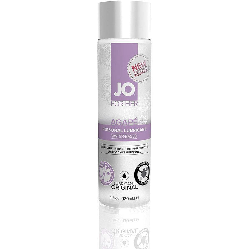JO - For Her - Agape - Original - Water Based Lubricant 4oz
