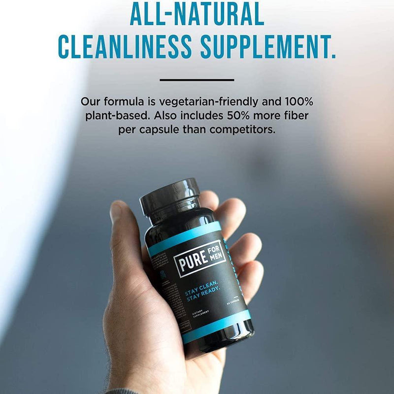 Pure for Men - Capsule Bottle 60ct