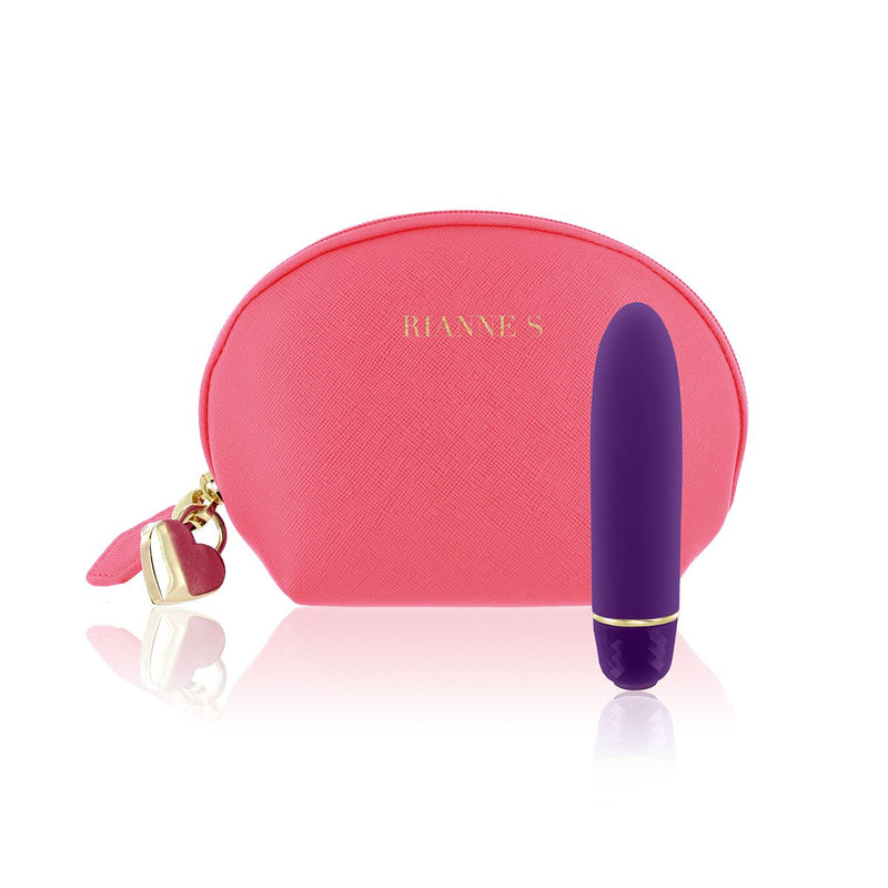 Rianne S Classique Silicone Mini Vibrator - Purple - Circus of Books