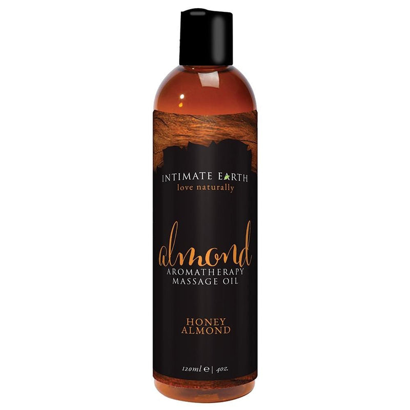 Intimate Earth - Almond - Massage Oil Honey Almond 4oz - Circus of Books