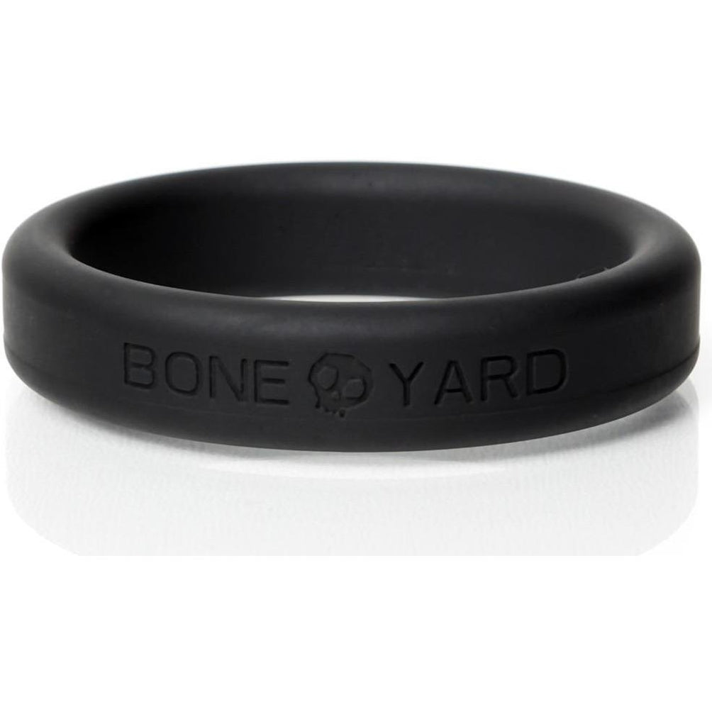 Boneyard Silicone Ring 45mm Black
