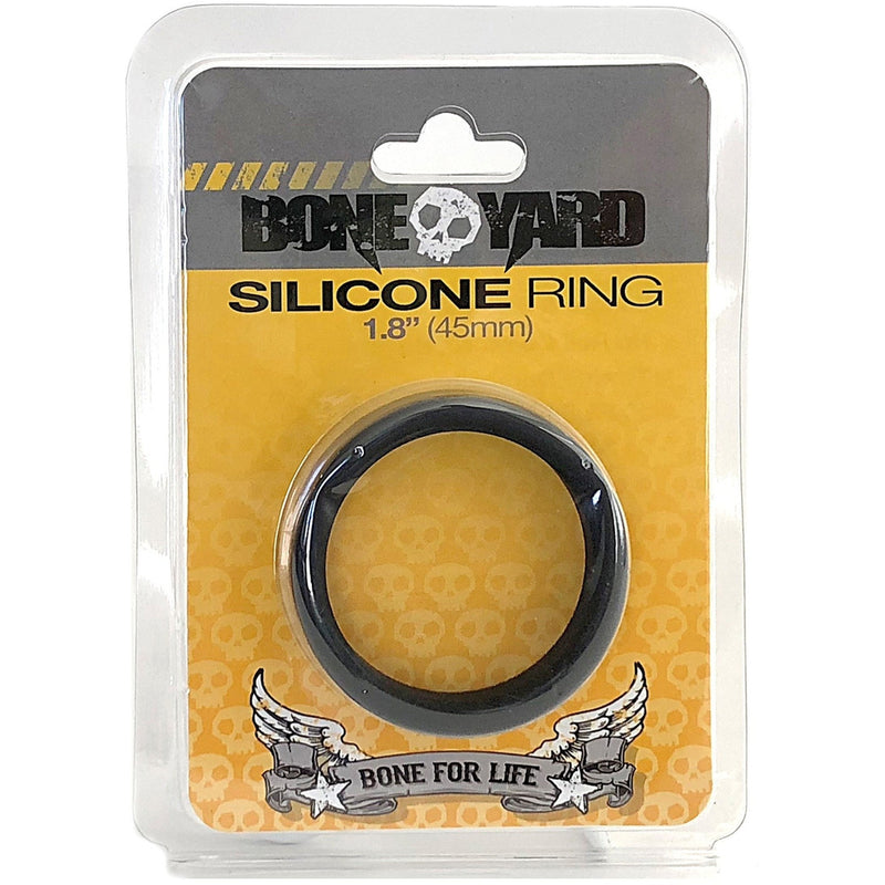 Boneyard Silicone Ring 45mm Black - Circus of Books