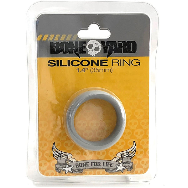 Boneyard Silicone Ring 35mm Gray - Circus of Books