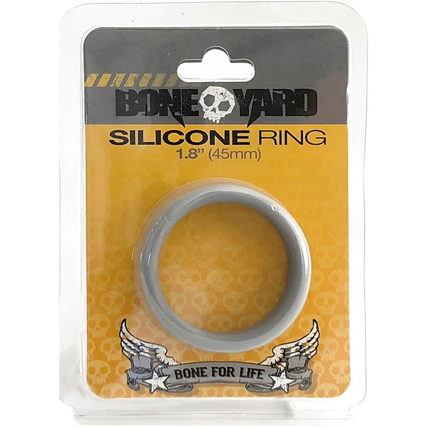 Boneyard Silicone Ring 45mm Gray - Circus of Books