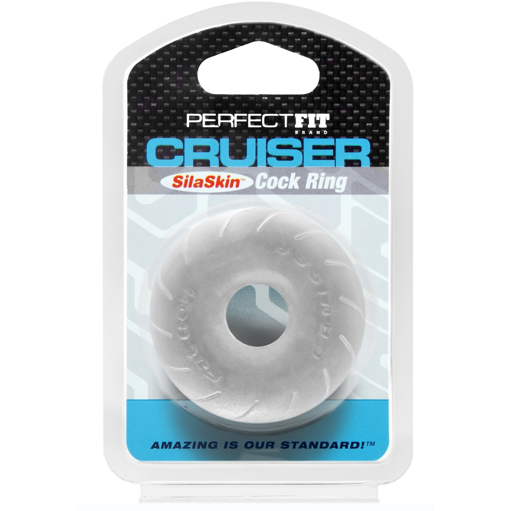 Perfect Fit Silaskin Cruiser Ring Clear
