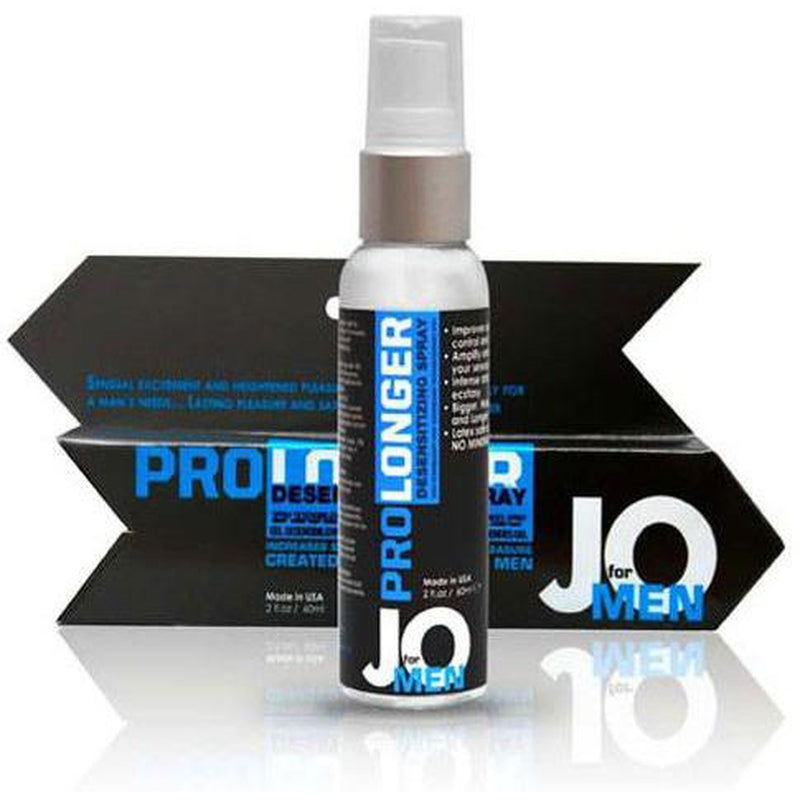 JO - For Men - Prolonger - Original - Desensitizing Gel Spray 2oz - Circus of Books