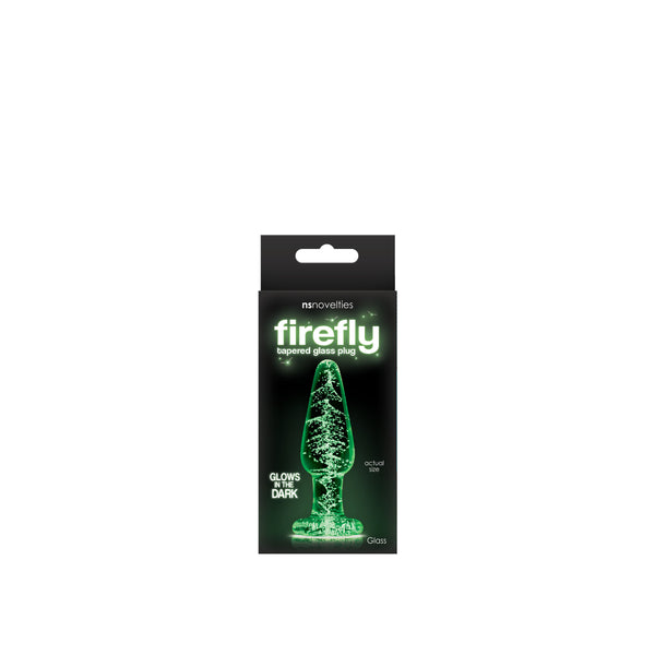Firefly - Glass Tapered Plug - Glows in the Dark - Small - Circus of Books