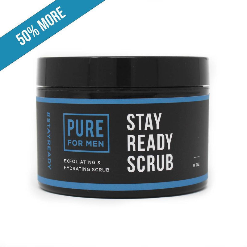Pure for Men - Stay Ready Scrub 9oz - Circus of Books