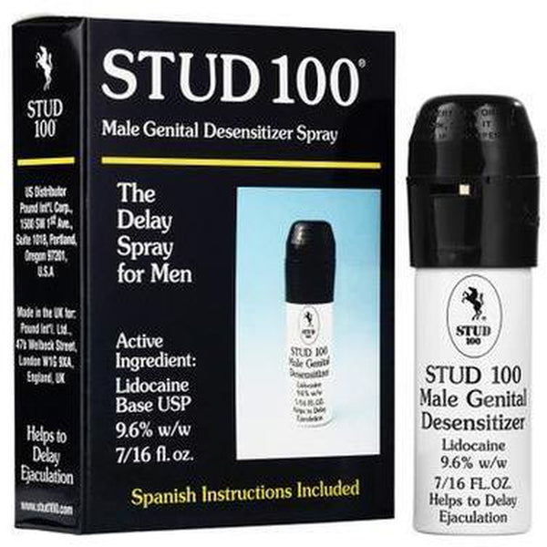 Stud 100 - Desensitizer Lidocaine Spray .4oz - Circus of Books