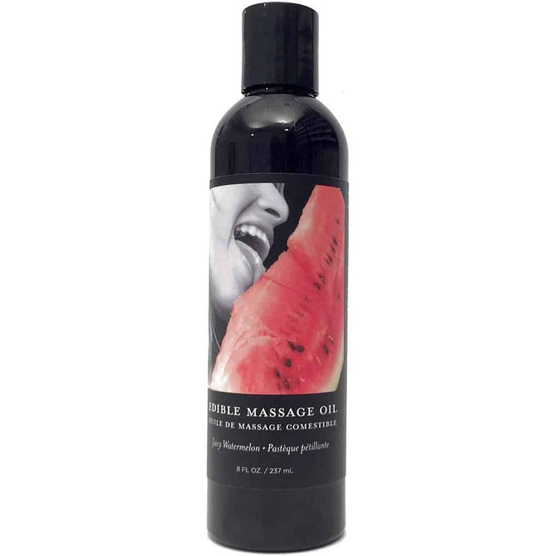 Edible Massage Oil - Watermelon 8oz - Circus of Books