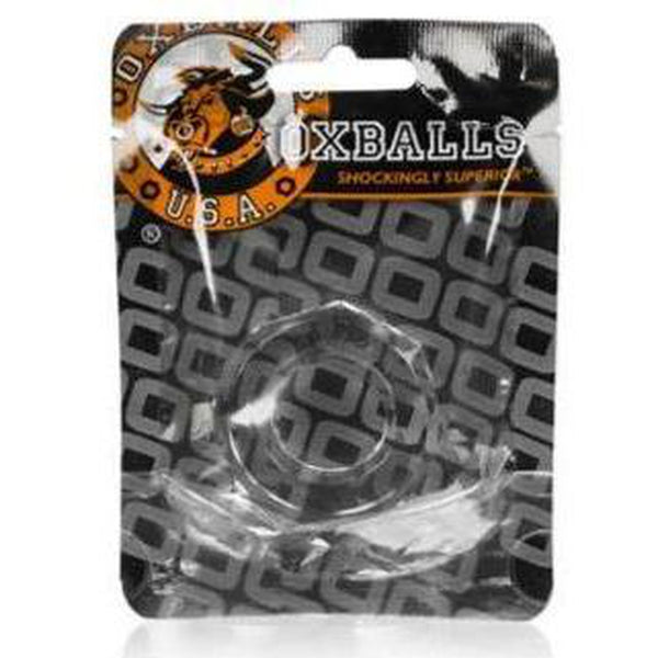OX HUMPBALLS Cockring Clear - Circus of Books