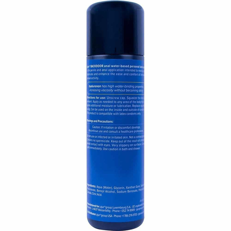 PJUR Backdoor Water Based Lubricant 250ml - Circus of Books