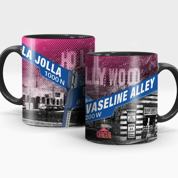 Vaseline Alley Circus of Books Mug - Circus of Books